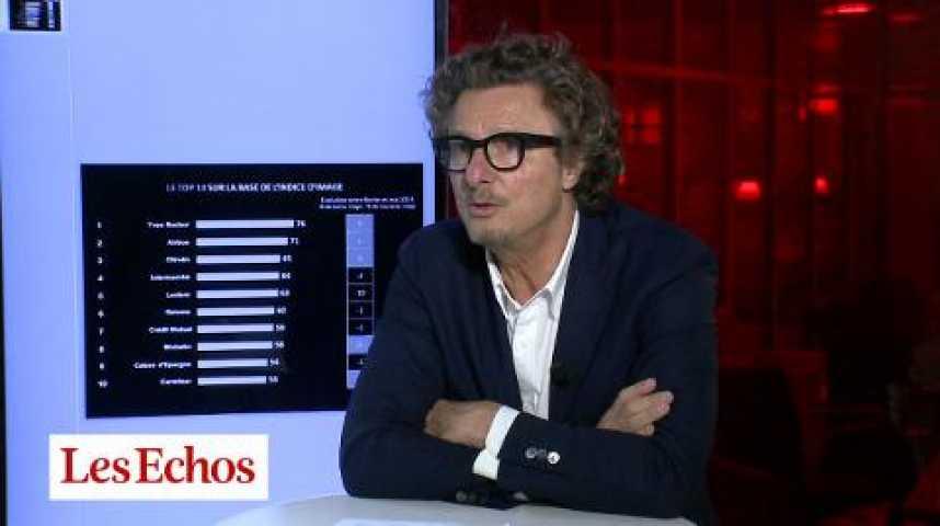 Illustration pour la vidéo Image des entreprises : Bouygues Telecom et BNP Paribas accusent le coup