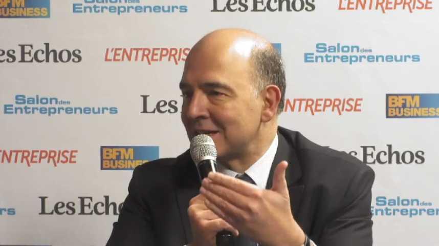 """Illustration pour la vidéo P. Moscovici : """"Je conçois Bercy comme la maison des entreprises"""""""