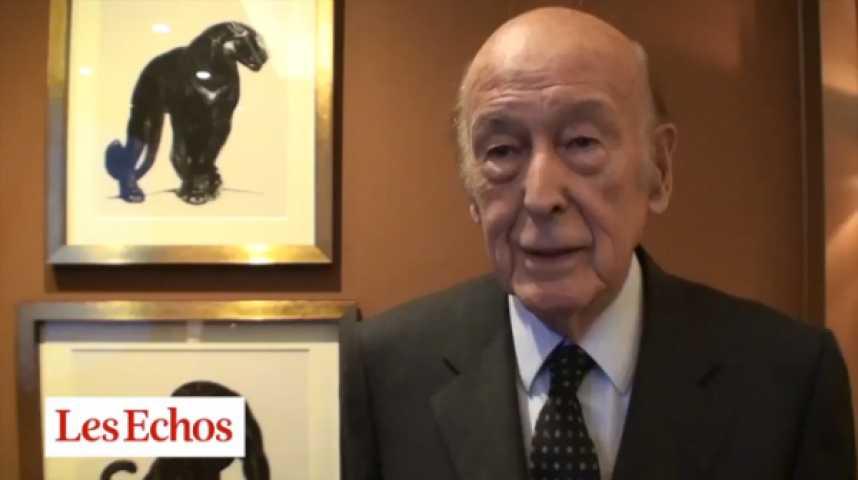 """Illustration pour la vidéo V. Giscard d'Estaing : """"On a besoin d'une Europe moins nombreuse"""""""