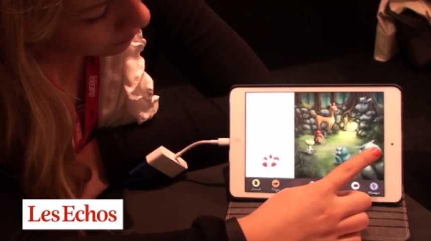 """Illustration pour la vidéo """"Les éditeurs jeunesse sont timides sur le numérique"""""""