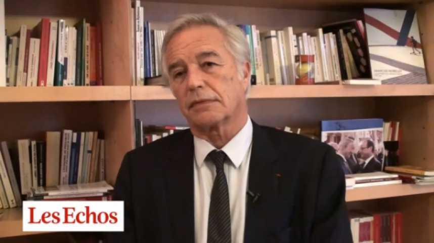 """Illustration pour la vidéo F. Rebsamen : """"Pour que la parole présidentielle retrouve sa crédibilité, il faut des résultats"""""""
