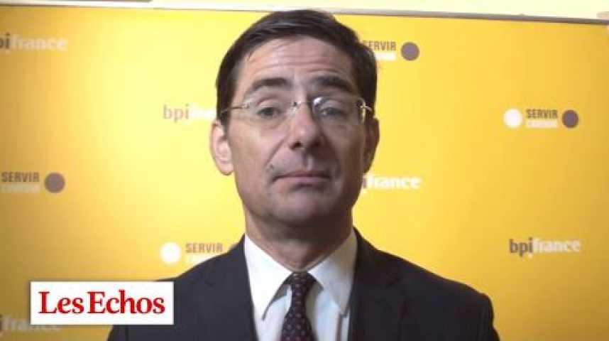 """Illustration pour la vidéo Nicolas Dufourcq (BPI) : """"La banque est désormais installée"""""""