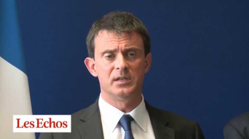 """Illustration pour la vidéo Manuel Valls : """"Il n'y a qu'une loi dans notre pays, la loi de la République"""""""