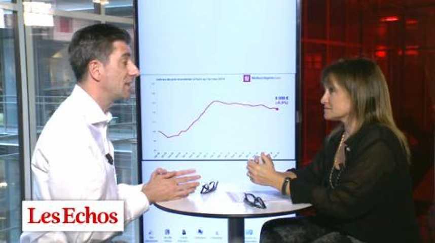 """Illustration pour la vidéo Immobilier parisien : """"Nous avons gagné 15% de pouvoir d'achat depuis juin 2011"""""""