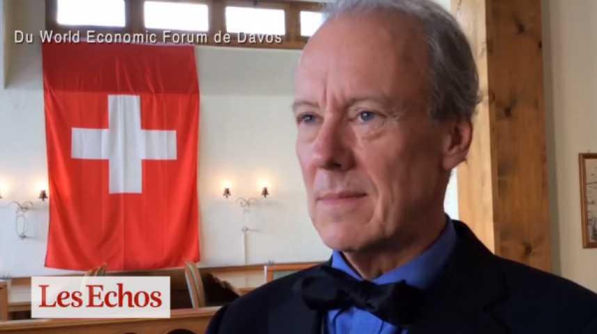 Illustration pour la vidéo En direct de Davos : rencontre avec W. Mc Donough, père de l'économie circulaire