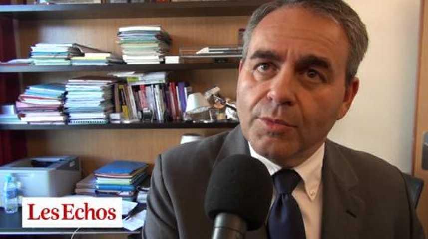 Illustration pour la vidéo Xavier Bertrand (UMP) : « Tout le monde sait que Sarkozy sera élu président de l'UMP »