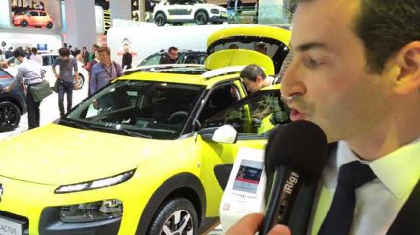 """Illustration pour la vidéo Citroën: """"La C4 Cactus surfe sur la dynamique du nouveau segment des cross-over"""""""
