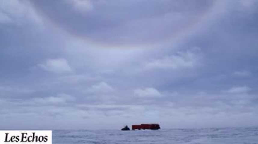 Illustration pour la vidéo Les pôles, enjeu géostratégique majeur