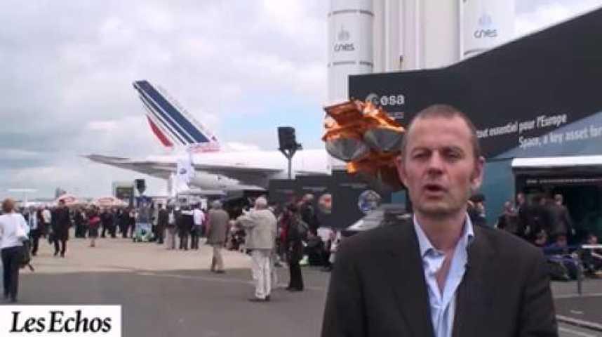 Illustration pour la vidéo Salon du Bourget 2011 : Galileo, un programme moins cher que prévu