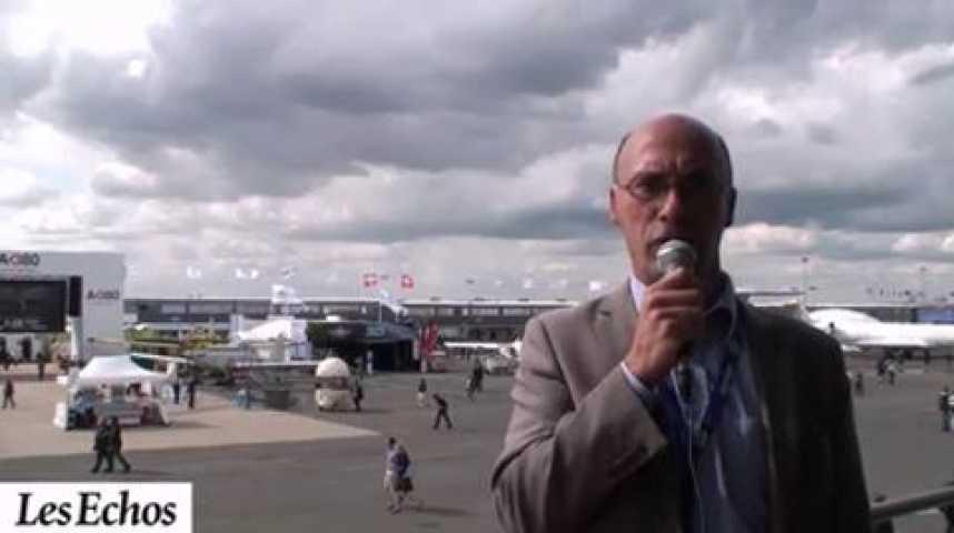 Illustration pour la vidéo Salon du Bourget 2011 : Un bilan au-dela des espérances d'Airbus