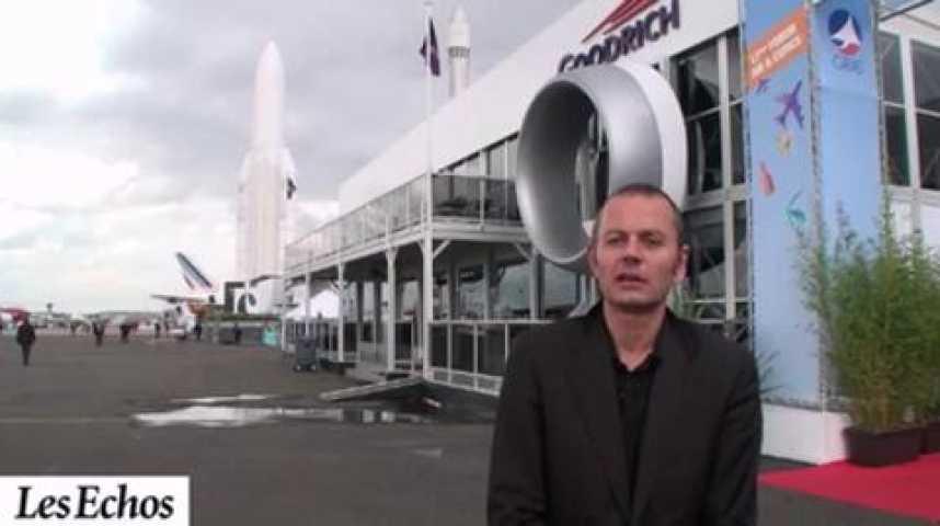 Illustration pour la vidéo Salon du Bourget 2011 : Une plate-forme pour cinq donneurs d'ordres