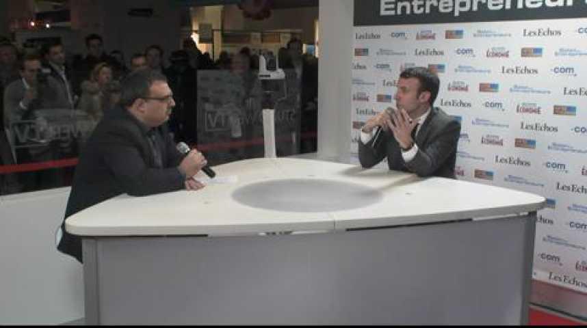 """Illustration pour la vidéo Emmanuel Macron : """"Il y a mieux que la loi Macron, c'est l'énergie des entrepreneurs !"""""""