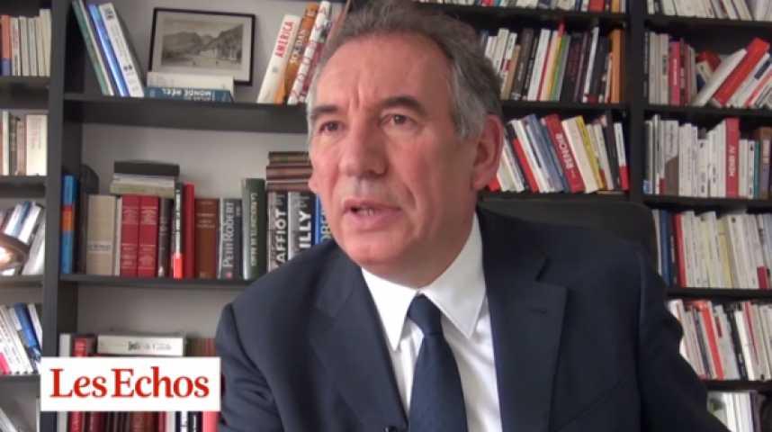 """Illustration pour la vidéo François Bayrou : """"Reconstruire la confiance ne se fera pas sans risque et sans courage"""""""