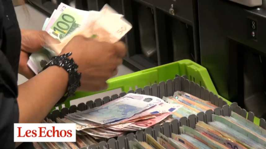 Illustration pour la vidéo Dans les coulisses de la Brink's : itinéraire d'un billet de banque