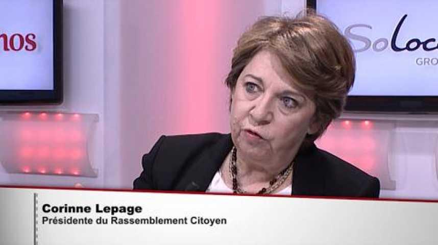 """Illustration pour la vidéo Corinne Lepage :""""COP21: les chefs d'Etat montrent une vraie volonté d'avance"""""""