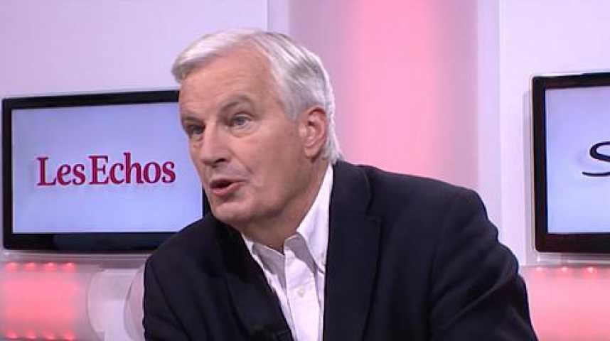"""Illustration pour la vidéo Michel Barnier: """"La crise grecque peut faire avancer l'Europe"""""""