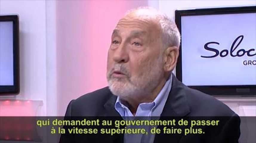 """Illustration pour la vidéo Joseph Stiglitz: """"La question des inégalités est au coeur de l'élection présidentielle américaine"""""""