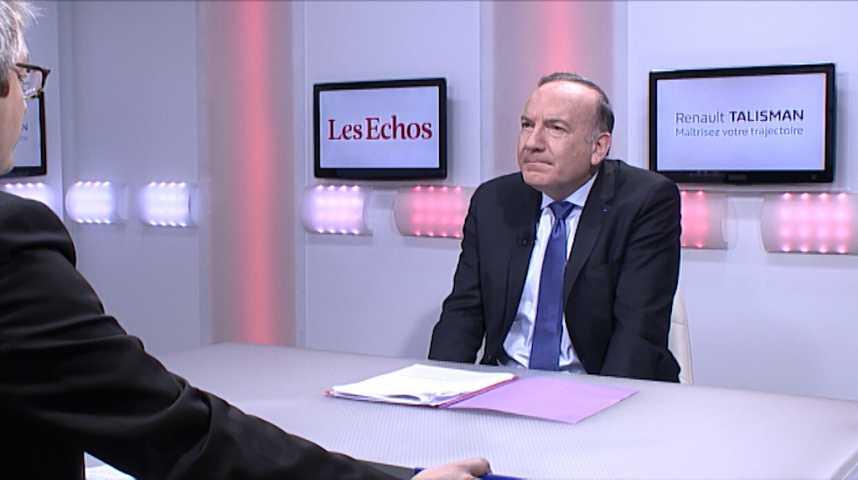 """Illustration pour la vidéo Pierre Gattaz: """"Il faut améliorer le dispositif Pôle emploi"""""""