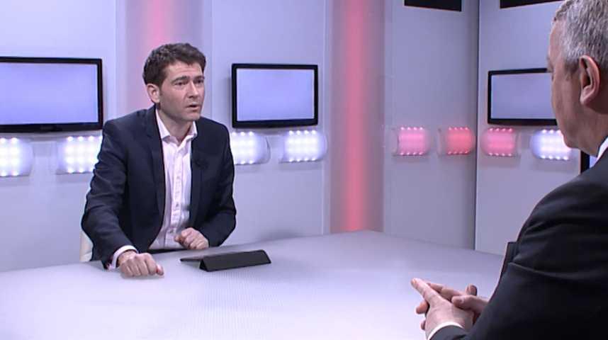 """Illustration pour la vidéo Antoine Frérot : """"Notre ambition est d'attaquer le marché de l'assainissement des équipements irradiés"""""""
