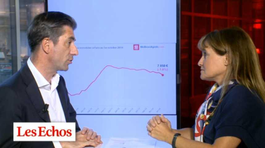 Illustration pour la vidéo A Paris, la baisse des prix de l'immobilier accélère
