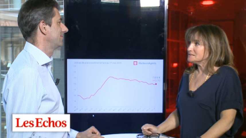 Illustration pour la vidéo Immobilier parisien : le retour des acheteurs