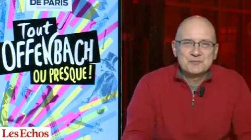 """Illustration pour la vidéo """"Tout Offenbach ou presque !"""", un spectacle réussi au Théâtre Antoine"""