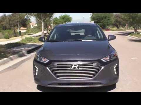 2017 Hyundai IONIQ Hybrid Driving Video | AutoMotoTV