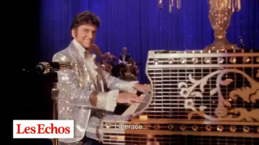 """Illustration pour la vidéo """"Ma vie avec Liberace"""", une performance exceptionnelle de Michael Douglas et Matt Damon"""