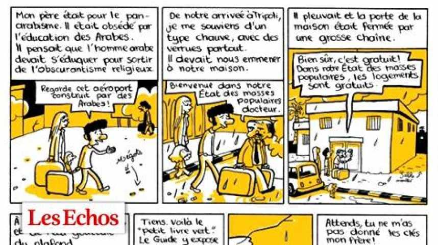 """Illustration pour la vidéo """"L'Arabe du futur"""", ou Riad Sattouf chez les dictateurs"""