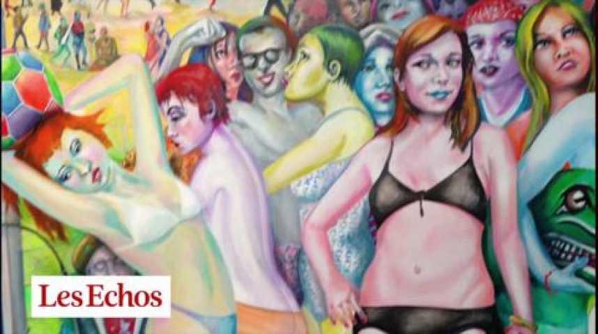 Illustration pour la vidéo Remarquable rétrospective Martial Raysse à Pompidou