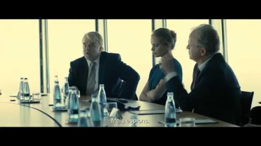 Illustration pour la vidéo Un film d'espionnage, dernier rôle de Philip Seymour Hoffman