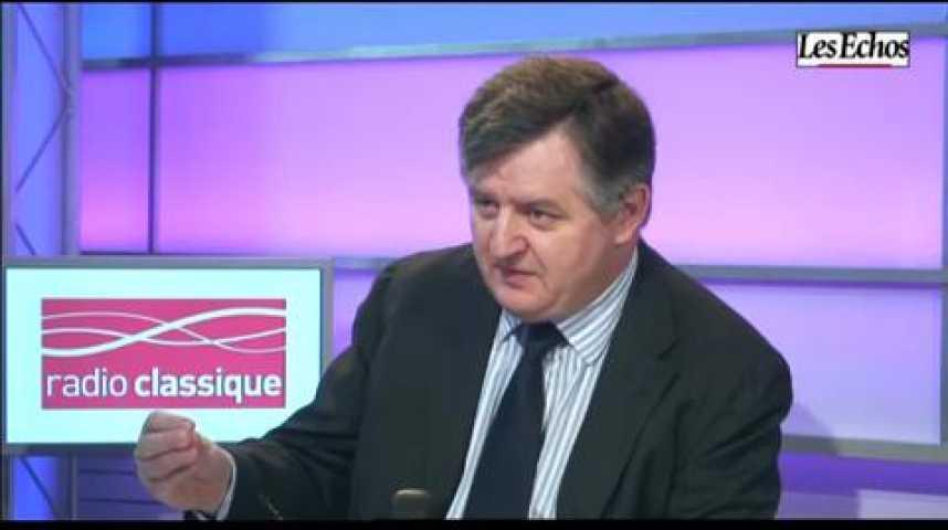 Illustration pour la vidéo L'invité de l'économie : Augustin de Romanet, PDG d'Aéroports de Paris