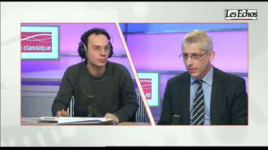 Illustration pour la vidéo L'invité de l'Economie : Frédéric Valletoux, Président de le Fédération des Hopitaux de France