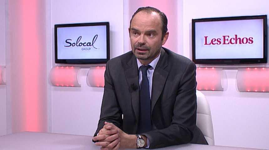"""Illustration pour la vidéo Edouard Philippe : """"Le gouvernement n'a pas pris la mesure du désastre sur le chômage"""""""