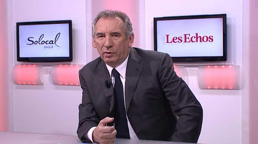 """Illustration pour la vidéo François Bayrou : """"Je crains que 'Républicains' devienne un nom de division"""""""