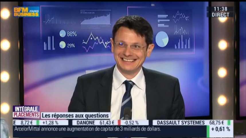 Illustration pour la vidéo Areva, EDF, Air France-KLM, Valeurs bancaires,BNP Paribas, Valeurs de consommation, Carrefour, SEB, Safran.