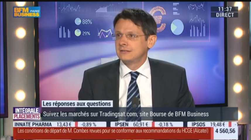 Illustration pour la vidéo Euronext, S&P, Carrefour, Vinci, Havas, Publicis, Immobilier