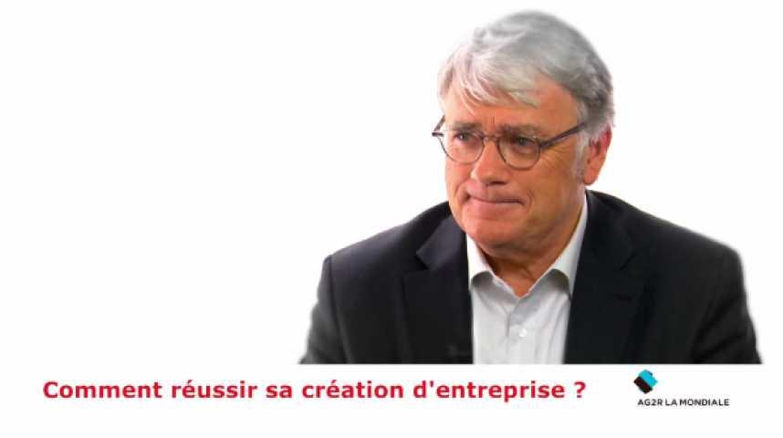 Illustration pour la vidéo Jean-Claude Relave : « Comment réussir sa création d'entreprise ? »