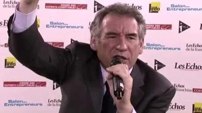 """Illustration pour la vidéo François Bayrou : """"Il y a trop de contrats de travail"""""""