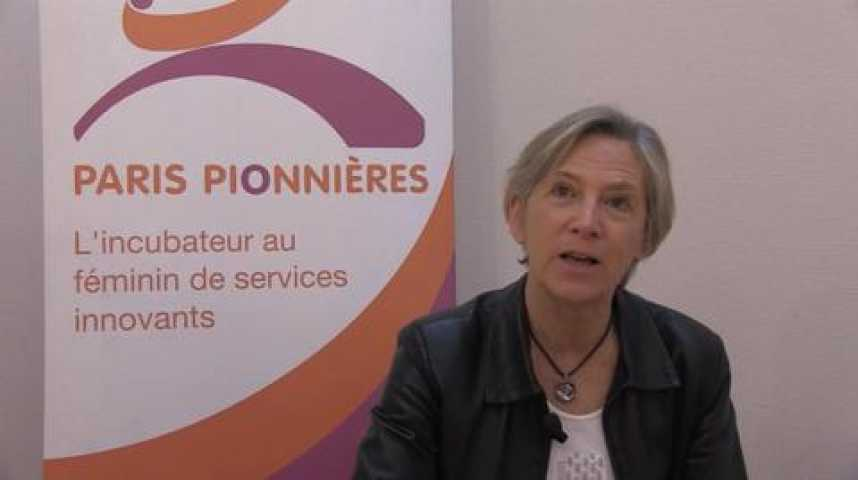 Illustration pour la vidéo Marie-Christine Bordeaux, Présidente de Paris Pionnières