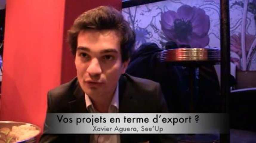Illustration pour la vidéo Xavier Aguera, See'Up, lauréat Moovjee « Premiers pas vers l'export »