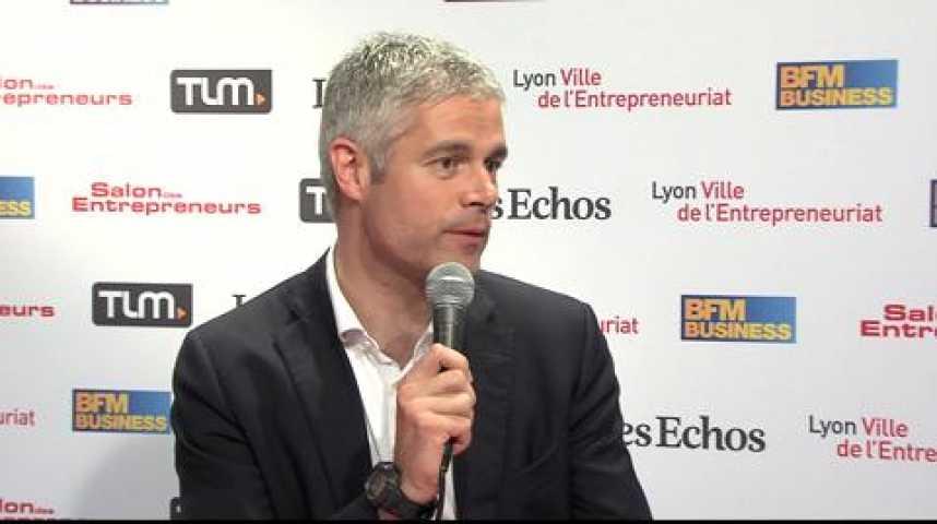 """Illustration pour la vidéo Laurent Wauquiez : """"Créateurs, ayez de l'audace !"""""""