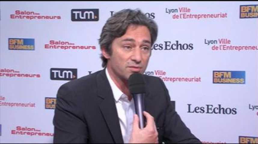 Illustration pour la vidéo Laurent Solly : de l'usage de Facebook par les entrepreneurs