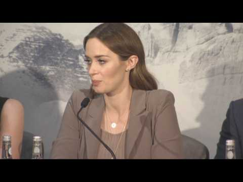 """Emily Blunt With """"Huntsman"""" Cast Speaks Out On Women's Rights and Roles"""