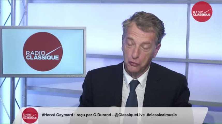 Illustration pour la vidéo Hervé Gaymard,  « Avec cette révision constitutionnelle, François Hollande embrouille tout le monde »