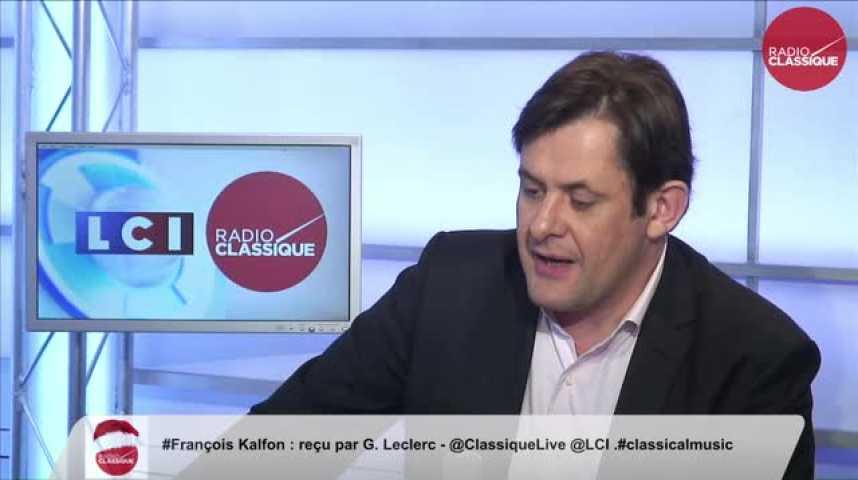 Illustration pour la vidéo François Kalfon, « La déchéance de la nationalité française est une indignité pour la gauche »