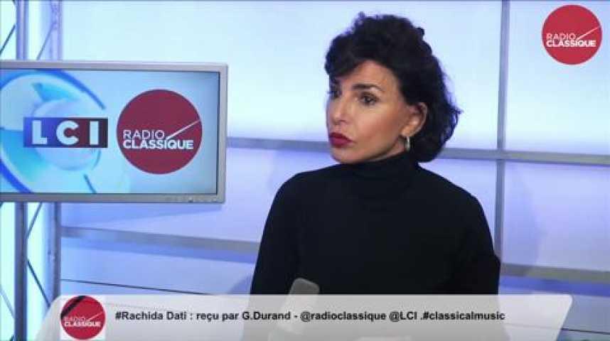Illustration pour la vidéo Rachida Dati,  «J'ai été choquée que Valls donne des leçons à Jean-Pierre Masseret »