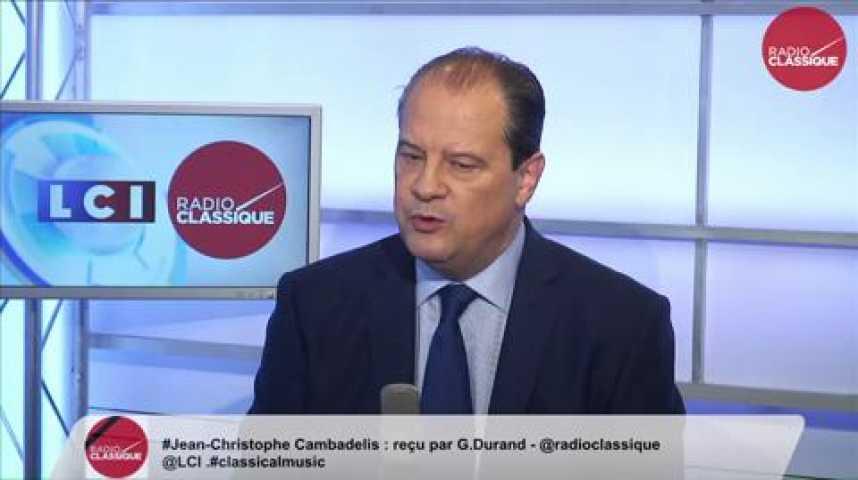 Illustration pour la vidéo Jean-Christophe Cambadélis, «Dans ce conflit asymétrique, terroriste, il ne faut pas penser qu'on arrivera à arrêter tout le monde. »