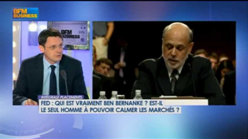 Illustration pour la vidéo Ben Bernanke seul face au marché