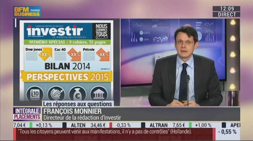 Illustration pour la vidéo Bourse : 4 pistes d'investissement pour 2015.
